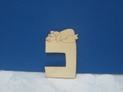 Wooden Craft letters-Cof